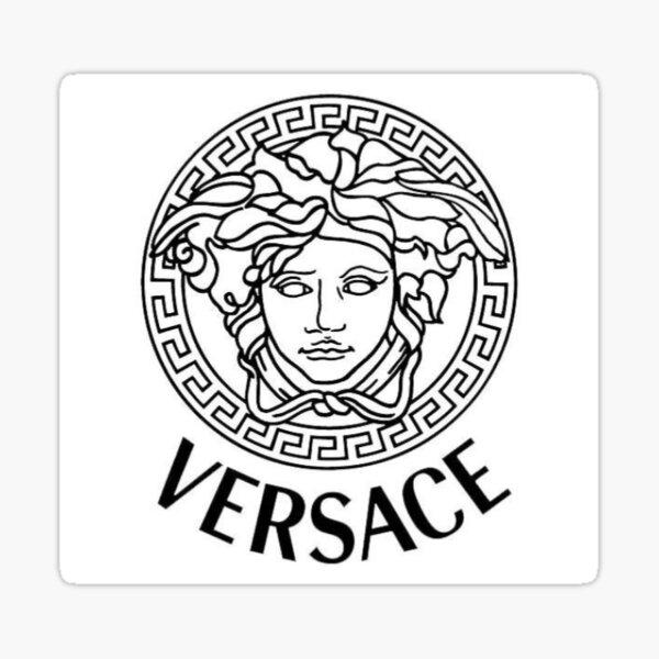 Drawn Versace Logo Chris Wang Sticker