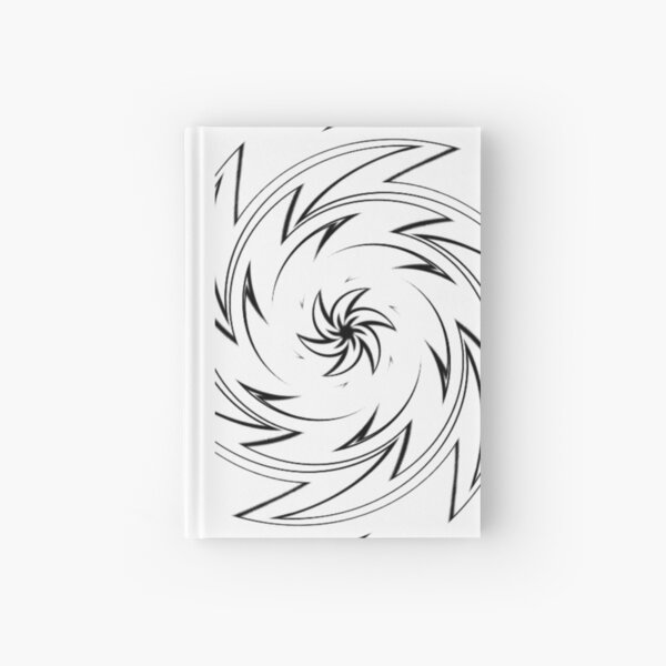 #Monochrome, #design, #art, #abstract, pattern, vector, illustration, steel, wallpaper Hardcover Journal