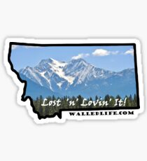 Montana Inspirational View Sticker