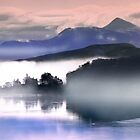 Morning Mist over Loch Etive and Ben Cruachan by Dennis  Hardley