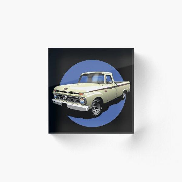 1966 Ford F100 Custom Cab - Shep Acrylic Block