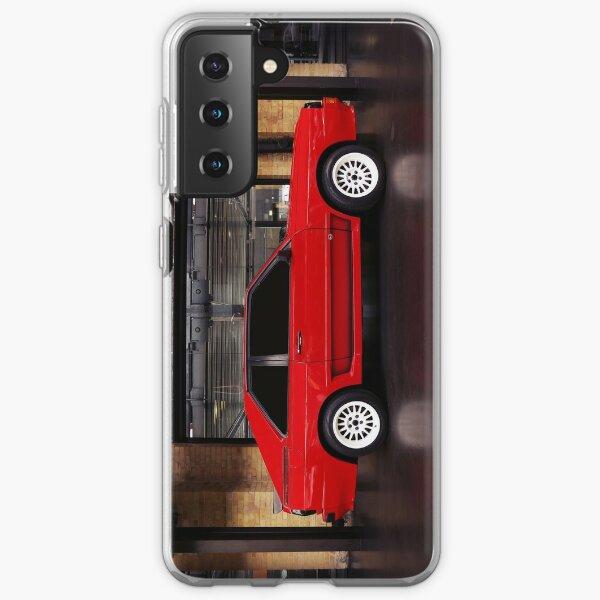 audi quattro, coche clásico Funda blanda para Samsung Galaxy