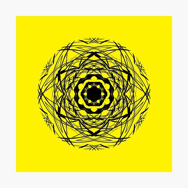 #pattern, #repeat, #abstract, #design, illustration, art, geometry, circle Photographic Print