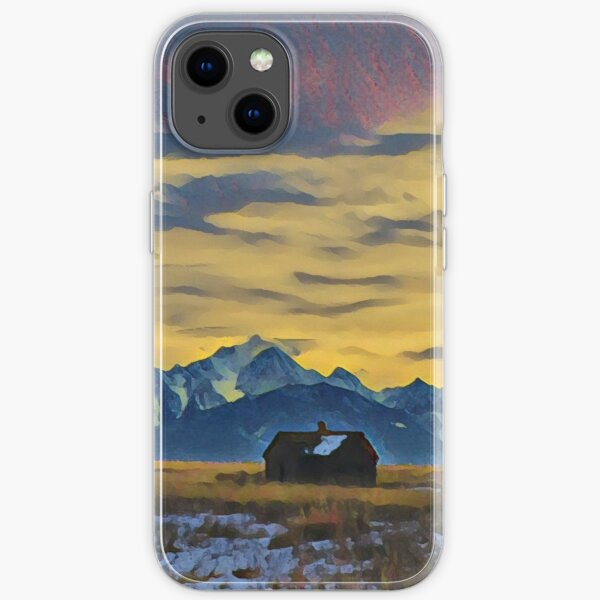 Mission Mountains Shed  iPhone Soft Case