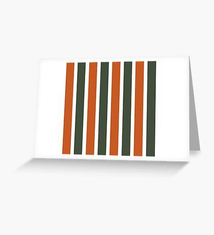 Bowie Stripe Greeting Card