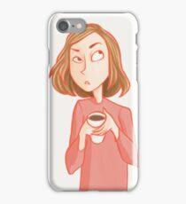 Cranky Mornings iPhone Case/Skin