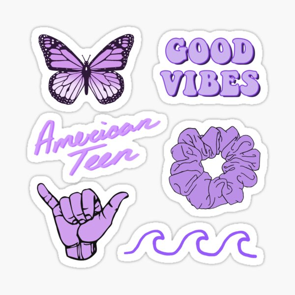 Purple Pack Sticker  Sticker
