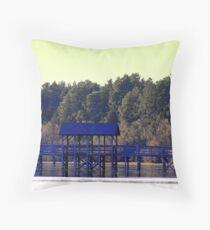 Boardwalk at Dusk Throw Pillow
