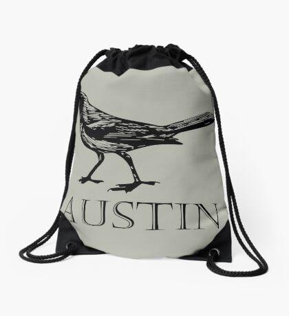 Austin Grackle Drawstring Bag