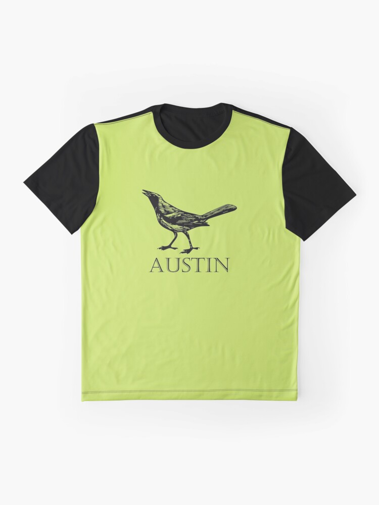 Alternate view of Austin Grackle Graphic T-Shirt