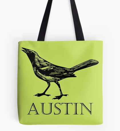 Austin Grackle Tote Bag