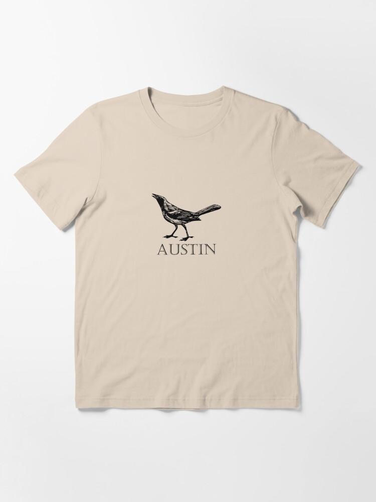 Alternate view of Austin Grackle Essential T-Shirt