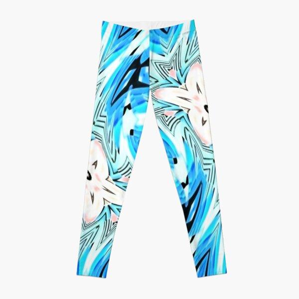 #pattern, #repeat, #abstract, #design, illustration, art, geometry, circle Leggings