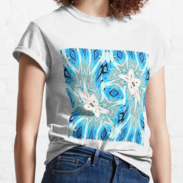 #pattern, #repeat, #abstract, #design, illustration, art, geometry, circle Classic T-Shirt