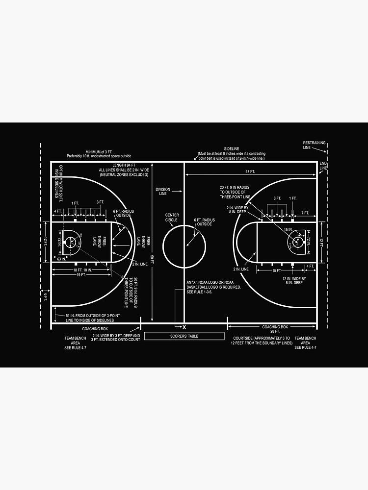 Basketball Court by innasoyturk