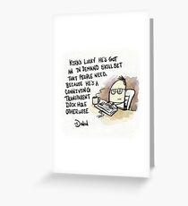 Kirk Greeting Card
