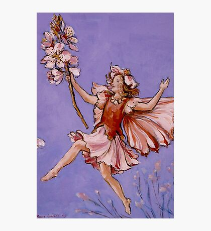 Apple Blossom Fairy Photographic Print