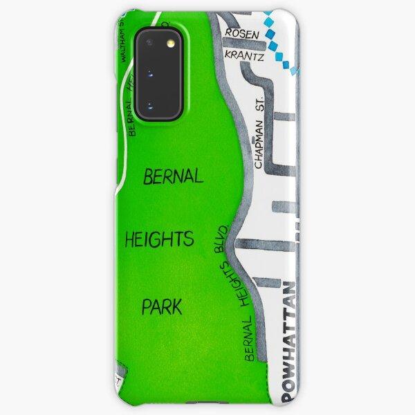 San Francisco map - Bernal Heights Samsung Galaxy Snap Case