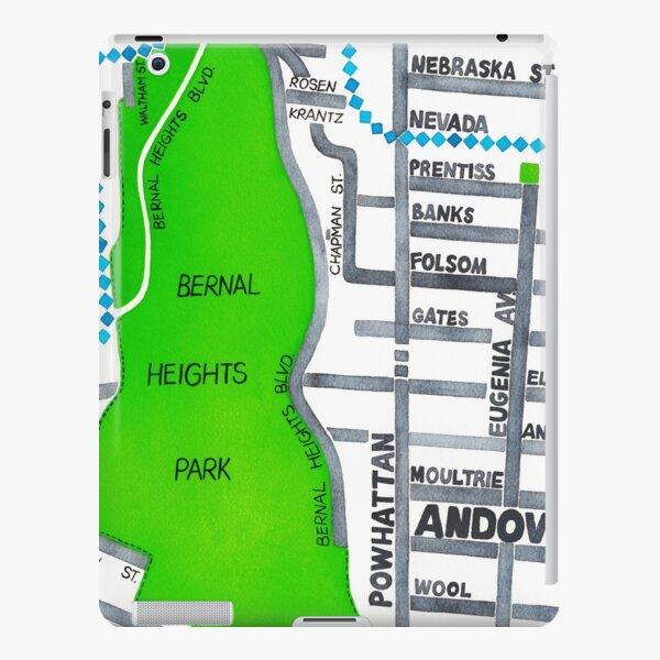 San Francisco map - Bernal Heights iPad Snap Case