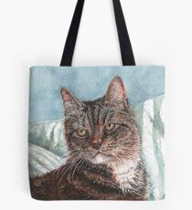 Jellylorum the Tabby Cat Tote Bag