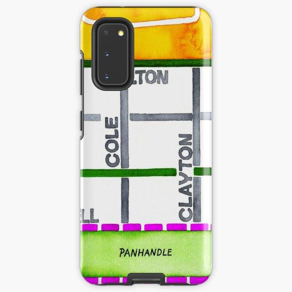 San Francisco map - NOPA Samsung Galaxy Tough Case