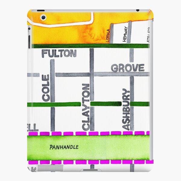 San Francisco map - NOPA iPad Snap Case