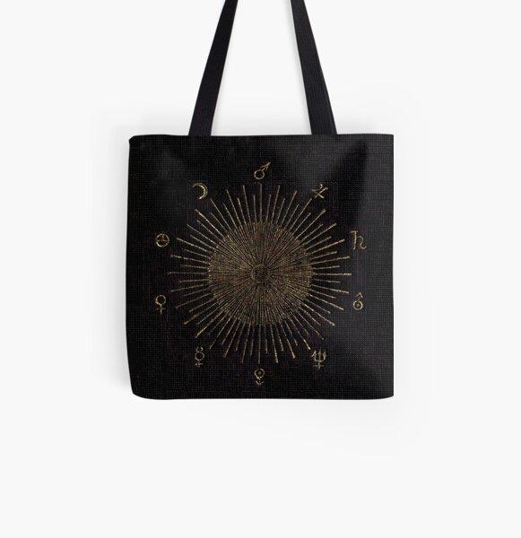 Astronomy Symbols All Over Print Tote Bag