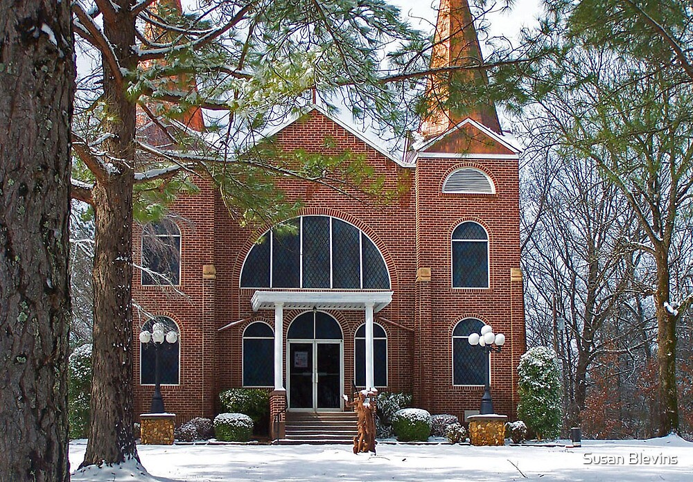 Saint John's in the Snow by Susan Blevins