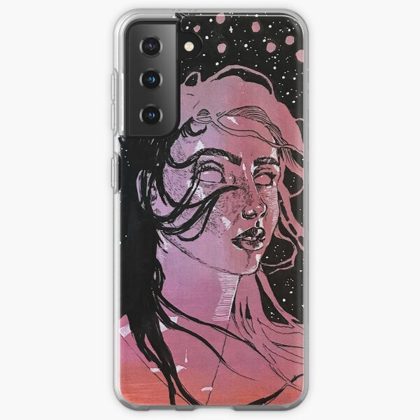 space face Samsung Galaxy Soft Case