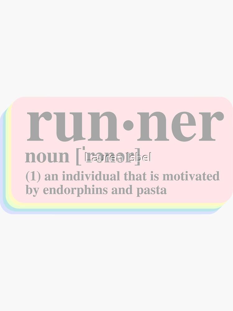 Runner Definition by laurenisbel