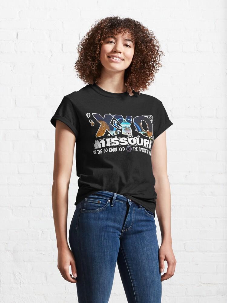 Alternate view of XYO Missouri Design Classic T-Shirt