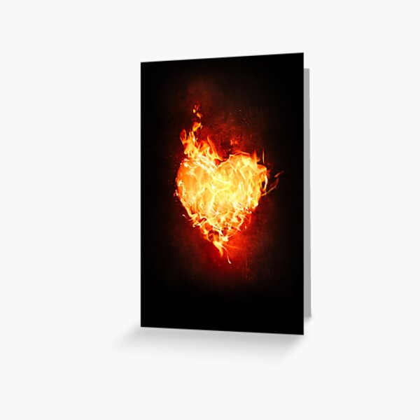 Hunka Burnin Love Greeting Card