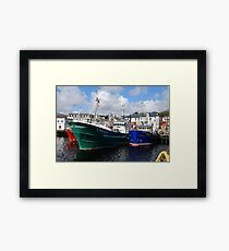 Killybegs Trawlers Framed Print