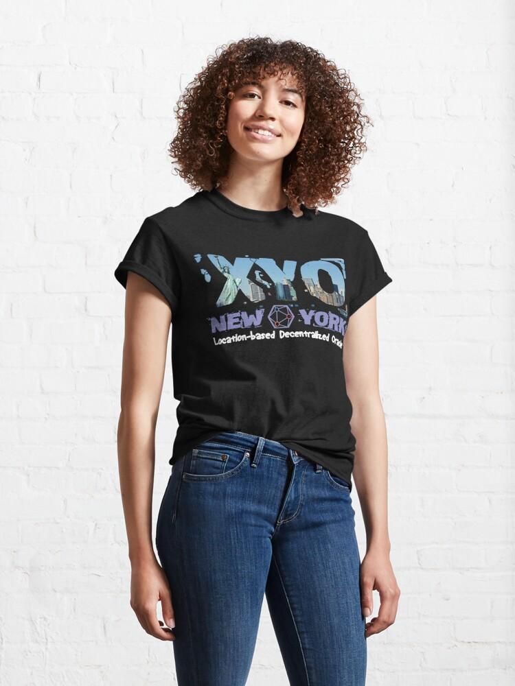 Alternate view of XYO New York Design Classic T-Shirt