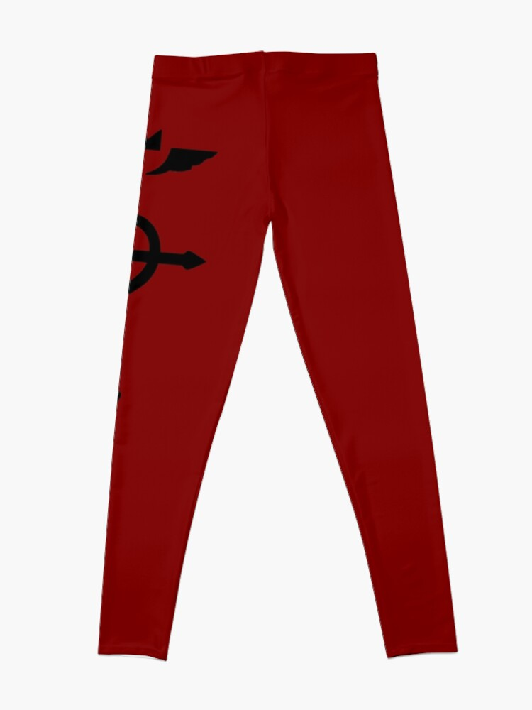 Alternate view of Fullmetal Alchemist - Flamel Insignia (Black) Leggings