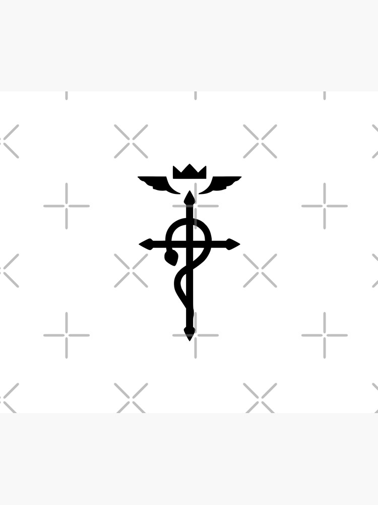 Fullmetal Alchemist - Flamel Insignia (Black) by Fireseed-Josh