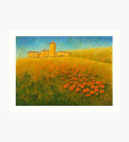 Tuscan Gold 01 Art Print