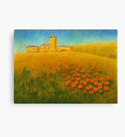Tuscan Gold 01 Canvas Print