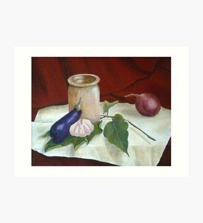 Tuscan Table Art Print