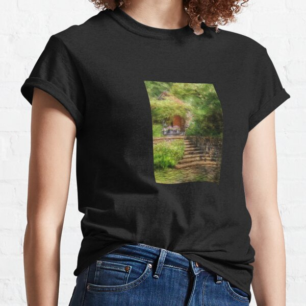 Under The Crepe Myrtle Tree Classic T-Shirt