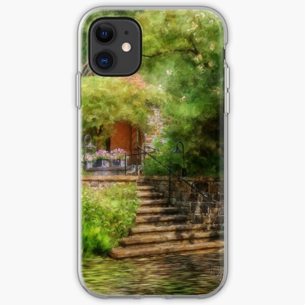 Under The Crepe Myrtle Tree iPhone Soft Case