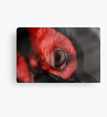 Check out these Eyelashes!!! Metal Print