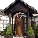 Kriegerdenkmal - War memorial - Saint Michael by Lee d'Entremont