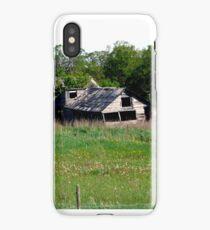 Abondoned on the Prairies iPhone Case/Skin