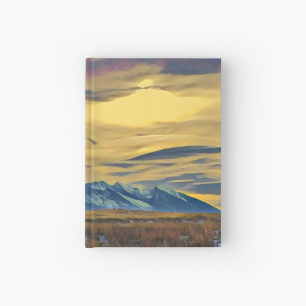 Mission Mountains Shed  Hardcover Journal