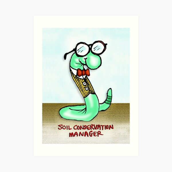 Soil Conservation Manager Art Print