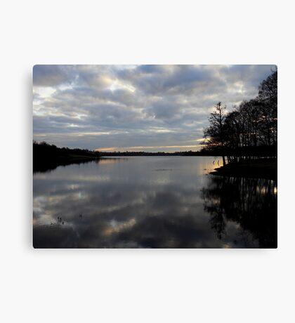 Gulladoo Lake at sunset Canvas Print