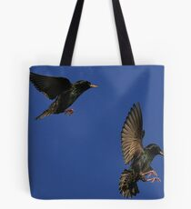 Flight Of The Starling Tote Bag