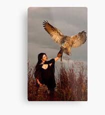 The Owl Returns Metal Print