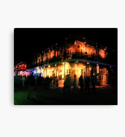 Ghosts of Bourbon Street Canvas Print